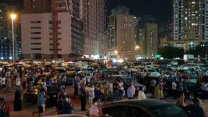 Massive blaze guts Sharjah high-rise tower 1