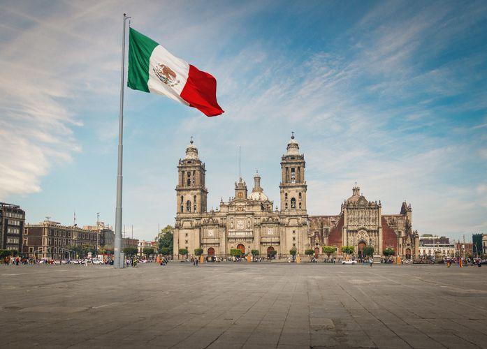 Slide 8 of 26: Mexico City is one of the most European cities in North America  Known for its amazing cuisine and architecture, Mexico City surrounds also contain incredibly diverse ecosystems and cultural traditions, so the area  has wide and delicious appeal.