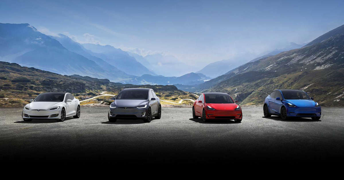 Tesla Model S/X/3/Y Comparison (Range, Price, Acceleration ...