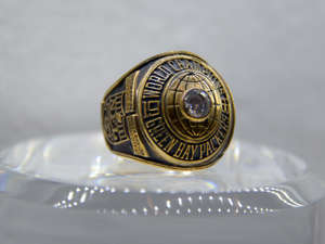 Super Bowl I ring: The Green Bay Packers defeated the Kansas City Chiefs 35-10 on Jan. 15, 1967.