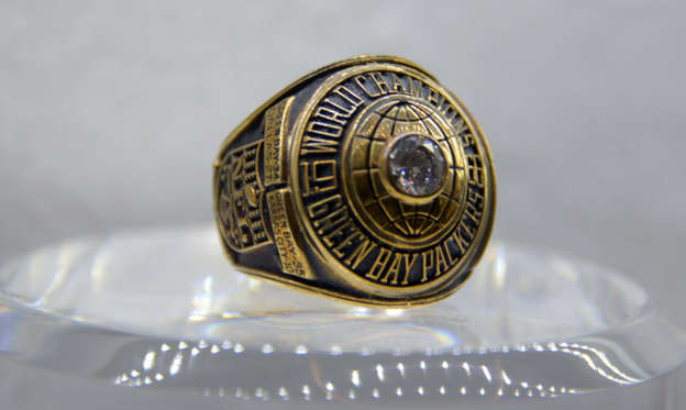 Slide 1 of 51: Super Bowl I ring: The Green Bay Packers defeated the Kansas City Chiefs 35-10 on Jan. 15, 1967.
