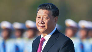 Xi Jinping wearing a suit and tie: Chinese ministry warned Xi of armed confrontation with US: report