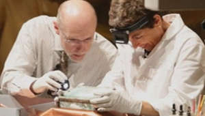 Scientists open oldest US time capsule dating back to 1795
