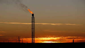a sunset over a body of water: Natural gas futures up 0.29% to Rs 209.50 per mmBtu