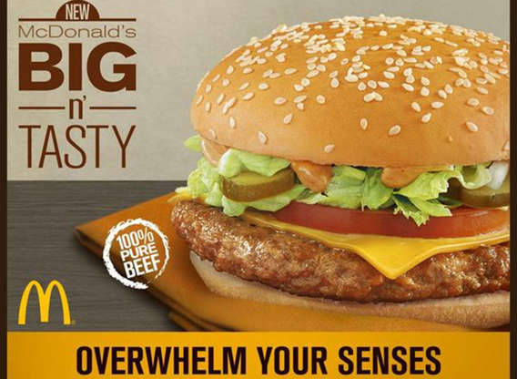 Slide 21 of 21: Initially, McDonald's introduced the Big N' Tasty burger in California in 1997 in conjunction with Disney's California Adventure theme park opening. (It was part of the same Disney-McDonald's deal that led to theSzechuan sauce disaster of 1998.)There wasn't anything inherently wrong with the Big N' Tasty, which was rolled out nationally in 2000. But in 2011, it ended up getting phased out in favor of newer products. As they say, all good things must come to an end.For more, check out these 108 most popular sodas ranked by how toxic they are.