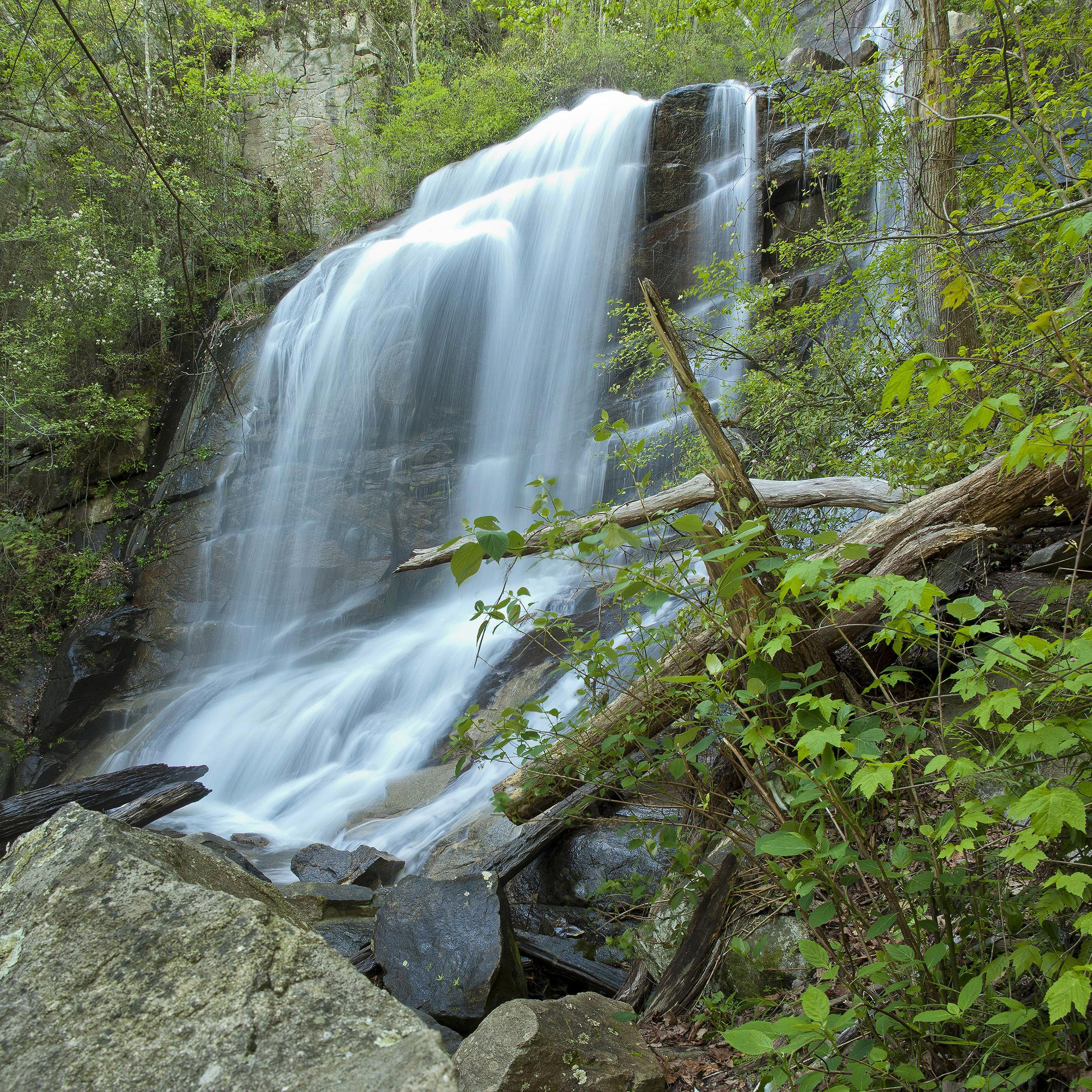 Slide 41 of 52:  Where: Jones Gap State Park Distance: 3.4 miles out and back Must see: This short and sweet hike offers breathtaking views of a 125-foot waterfall that is sure to be unlike anything you've seen before.