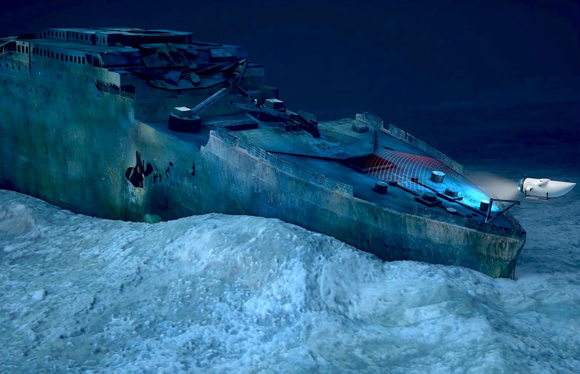 Slide 21 of 31: The most famous shipwreck of all time, the RMS Titanic has rested two miles below the Atlantic since its fateful maiden voyage in 1912. Launching in 2021, experience company OceanGate will be taking a limited number of guests and crew on a live scientific expedition to capture the first-ever 4K images of the Titanic. In August 2019, divers explored the wreck for the first time in 15 years and discovered that it's deteriorating from bacteria and salt corrosion. The starboard side of the officer's quarters has disappeared and the divers predict it won't be long before the entire ship is lost. Uncover the secrets of the Titanic here.