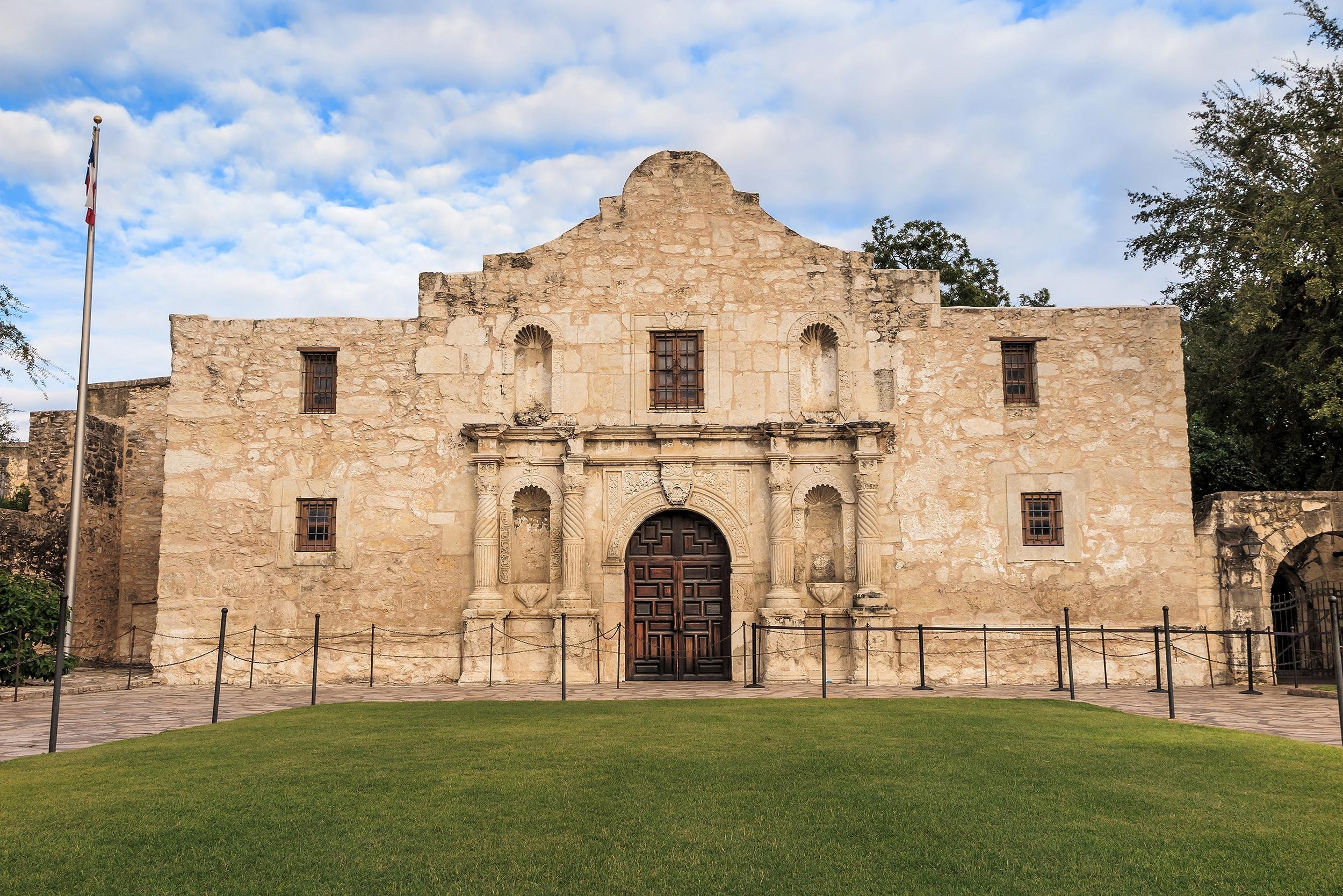 "Slide 44 of 52: Most known as a site which fueled a thirst for violent revenge, the phrase ""remember the Alamo"" served as a rallying cry for soldiers of the Texian Army in their battle against Mexico during the Texas Revolution. After the slaughter of Texas soldiers at San Antonio's Alamo Mission, the Texian Army would go on to defeat the Mexican Army at the Battle of San Jacinto to establish the Republic of Texas."