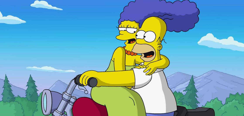 Slide 4 de 31: Se o assunto for casais da televisão mais emblemáticos, impossível esquecer do Homer e da Marge em 'Os Simpsons'.