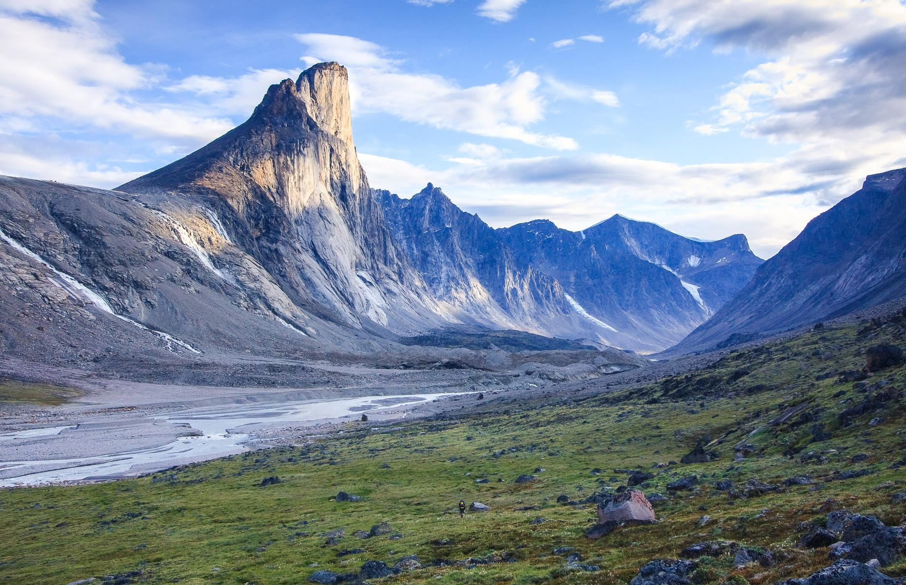 Slide 9 of 31: Located within the remote Auyuittuq National Park, Mount Thor (officially known as Thor Peak) is named after the Norse god of thunder and for very good reason as it's so intimidating. Featuring the world's longest vertical drop at a hair-raising 4,101 feet (1,250m), the slope isn't easily ascended either. In fact, it's so difficult, the mountain wasn't conquered until as recently as 1985, when a four-man American team completed it in 33 grueling days.