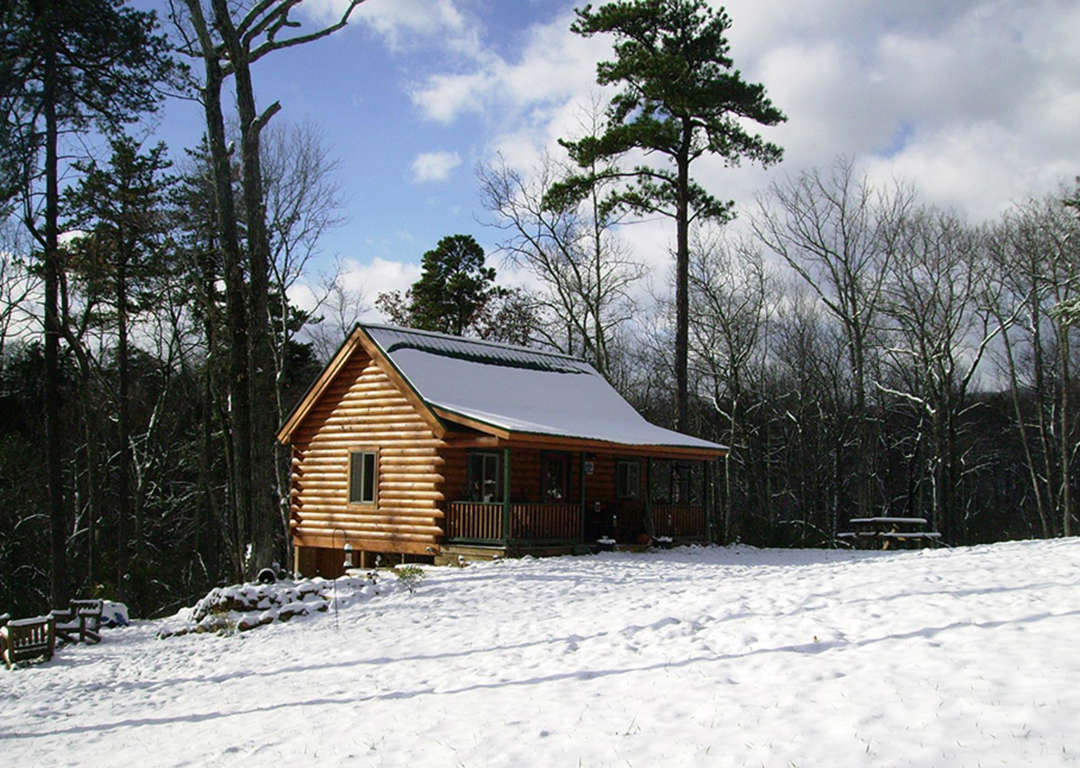 Log cabin kits for ultimate isolation