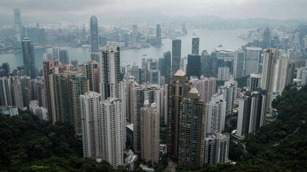 Hong Kong official warns of potential virus outbreak, urges people to stay indoors