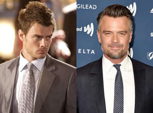 Josh Duhamel, Josh Duhamel are posing for a picture: Former Marine and war veteran Danny McCoy starts under Ed's wing and comes into his own running the Montecito. Former soap opera star Duhamel came into his own too after hitting the jackpot with Las Vegas , juggling his series with roles in Win a Date With Tad Hamilton , Turistas and Transformers . After the series ended in 2008, it was onto two Transformers sequels; rom-coms including When in Rome , Life As We Know It , and New Year's Eve , and even a return to his old All My Children stomping grounds, reprising the character of Leo du Pres in a couple of episodes in 2011. Duhamel also starred in the quirky detective series Battle Creek , co-starred in the Hulu series 11/22/63 , played real-life detective Greg Kading in Unsolved: The Murders of Tupac and the Notorious B.I.G. and was a doting dad in both the coming-of-age-and-coming-out dramedy Love, Simon and Think Like a Dog . Rather notably, Duhamel also met Fergie on the set of Las Vegas , when she and the Black Eyed Peas had a cameo. They got married in 2004 and had son Axl together before separating in 2017 and finalizing their divorce in 2019.
