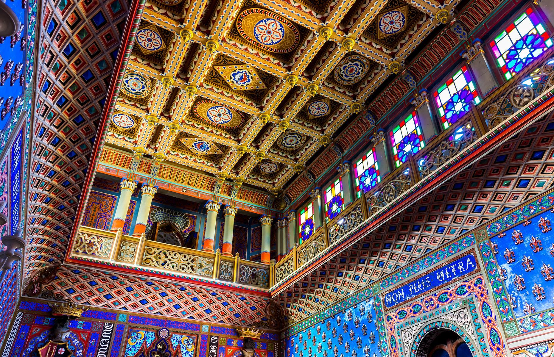 Slide 29 of 70: However, its Moorish beauty remains, with colorful tiling and murals throughout. Now privately owned, it's off limits to visitors although you can read more about the property here. Now discover incredible pictures of tourist attractions that no longer exist.