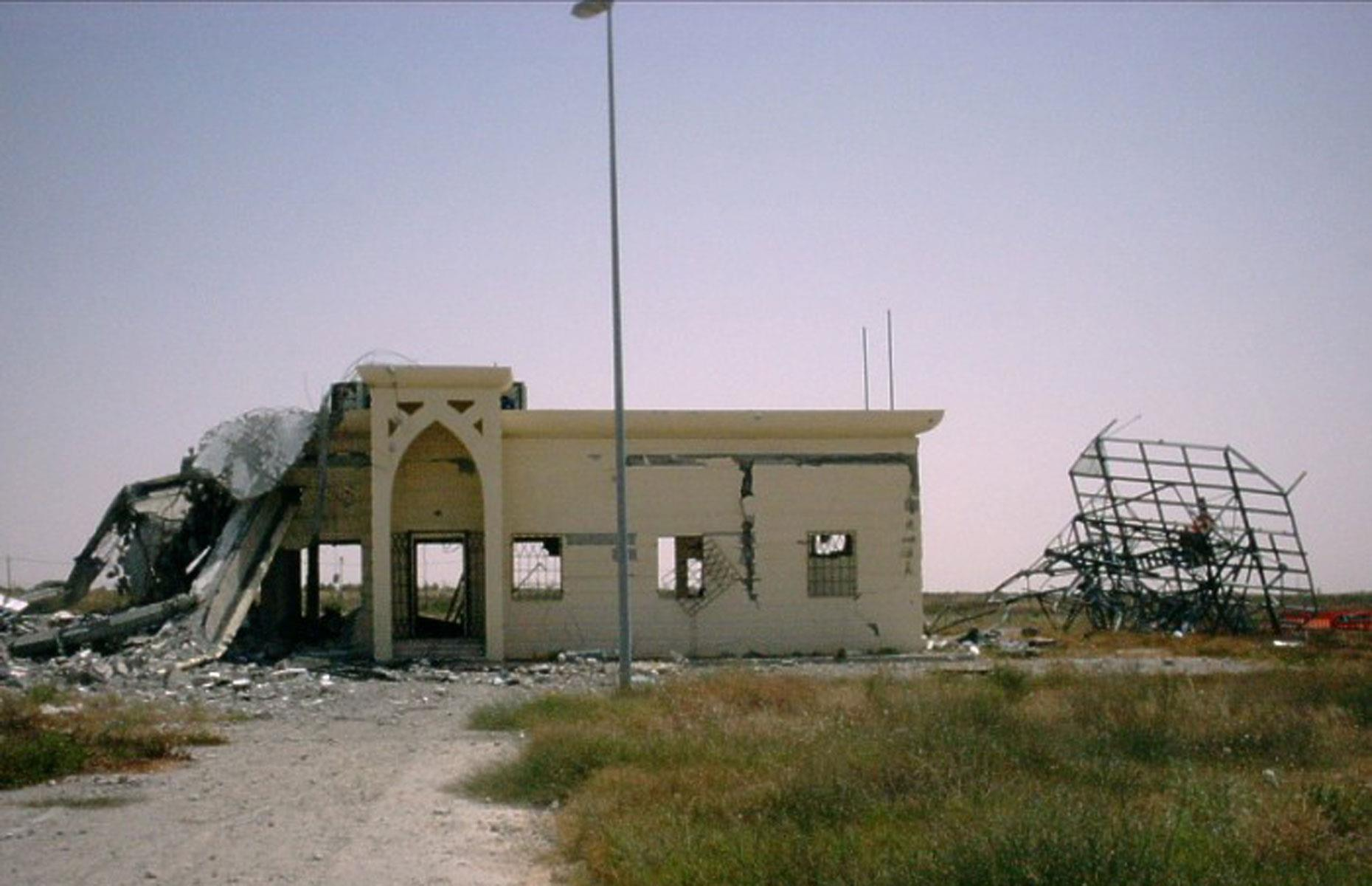 Slide 70 of 70: Now a complete wreck, the airport has been totally abandoned and proposals to rebuild the hub have been vetoed by the Israeli authorities. Discover more of the world's creepy abandoned airports here