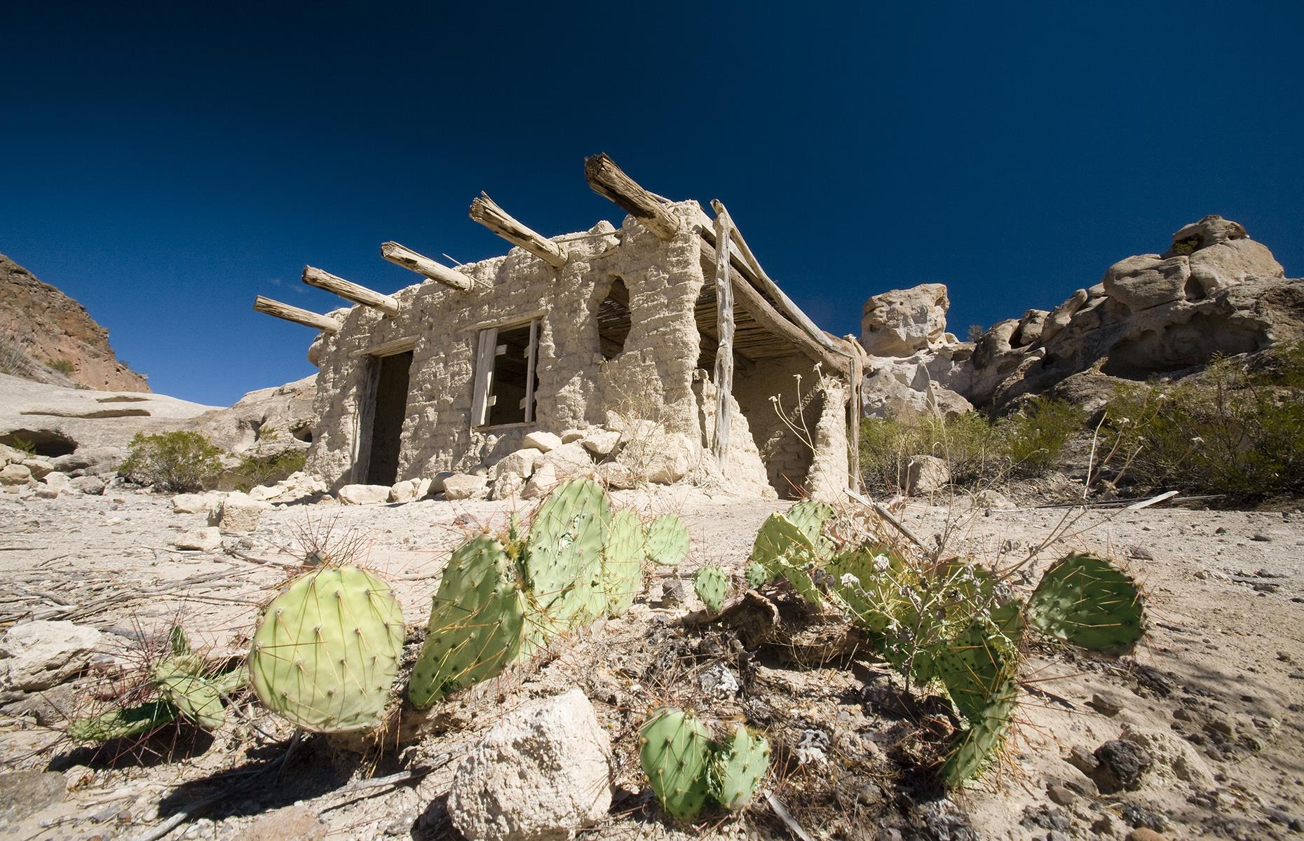 Slide 15 of 33: The residents of Terlingua realized its potential as an attraction on the way to Big Bend National Park. The town usually offers several dining spots, a souvenir shop and tours of the abandoned buildings.