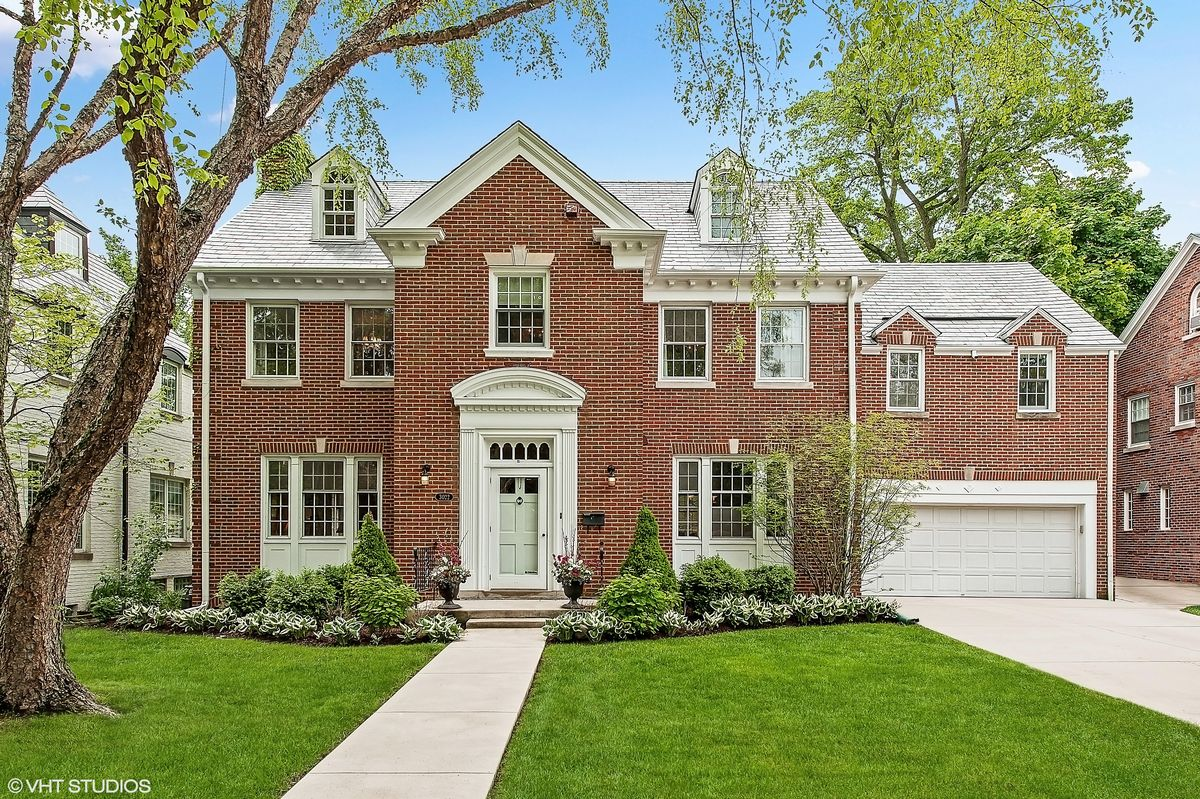 Slide 33 of 43: The traditional brick home where Molly Ringwald's character, Sam, dreaded her 16th birthday sits on a tree-lined street in a suburb just 30 minutes outside of Chicago. It has been on and off the market over the past few years but sold for more than $1 million in 2018.  3022 Payne St, Evanston, IL 60201