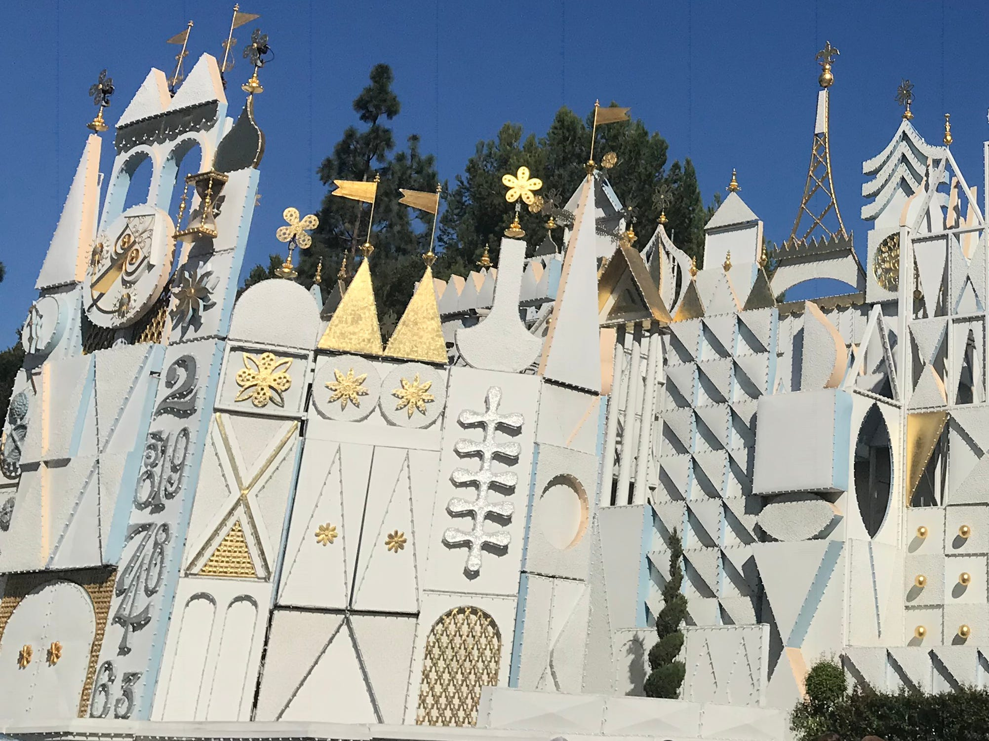 Slide 2 of 23: At almost 15 minutes, It's a Small World is one of Disneyland's longest attractions — and it's all indoors.