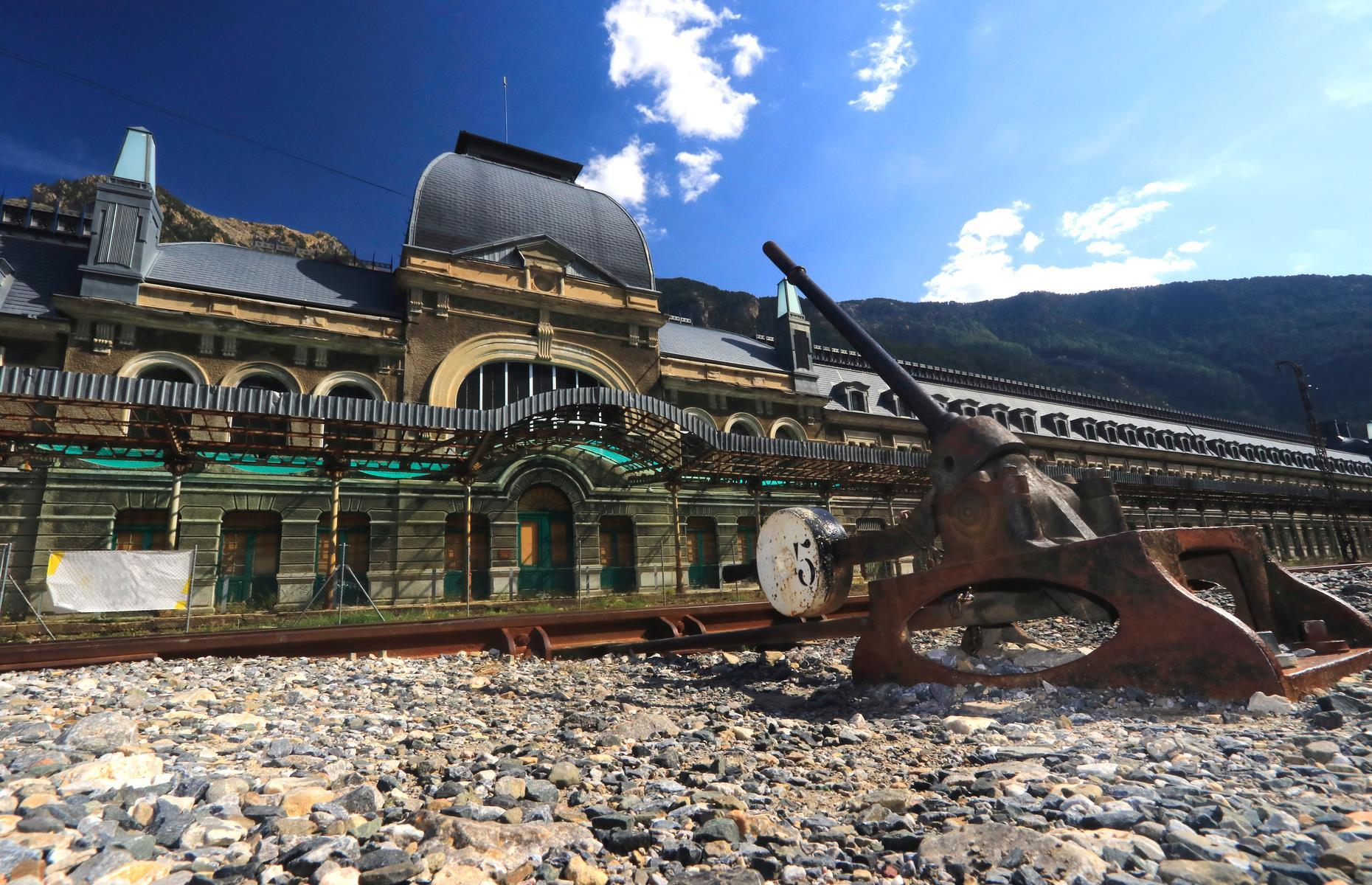 Slide 33 of 33: Today the haunting ruins of the decrepit station and its beautiful mountainous setting have become a popular tourist destination, withguided tours of the site available with social distancing rules in place. It was also recently bought by the local government in Aragon and major plans are afoot to restore Canfranc to its former glory, in the form of a luxury hotel with a working railway. Now discoverthese photos of the world's coolest metro stations