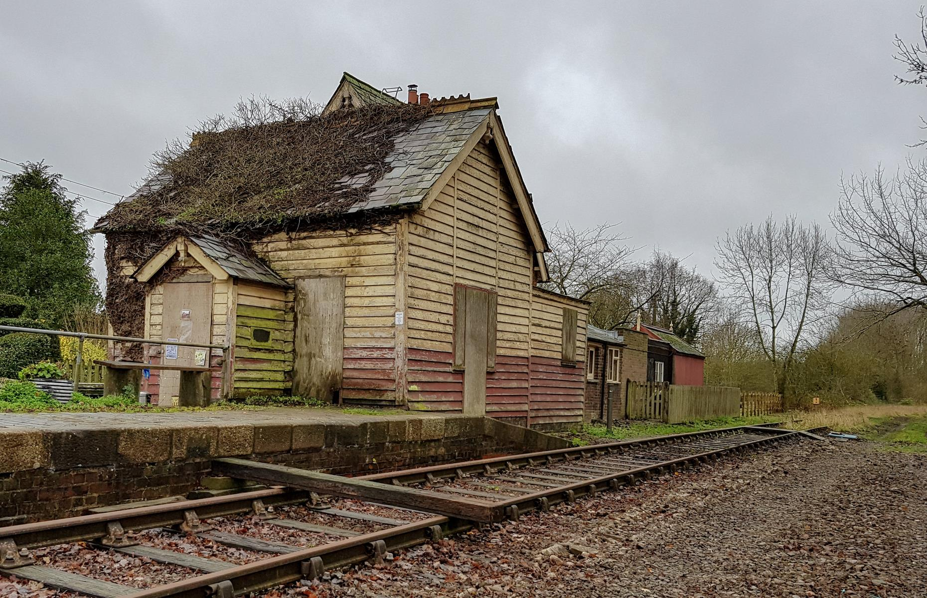 Slide 16 of 33: No one has alighted onto the platform at this remote and rural station in Buckinghamshire since 1968, though the buildings remain, derelict and unused. The station, which is actually a mile away from the village of Swanbourne, was on the Oxford to Bletchley line and operated by Buckinghamshire Railway when it opened in the 1800s.