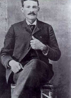 """Slide 12 of 32: Cowboy turned criminal, Tom Edward Ketchum became known as """"Black Jack"""" after helping to rob a train in New Mexico Territory in 1892. Associated at one point with Butch Cassidy's Wild Bunch Gang and later the Hole-in-the-Wall Gang, Black Jack continued robbing trains until his capture in 1899. Ketchum was executed by hanging."""