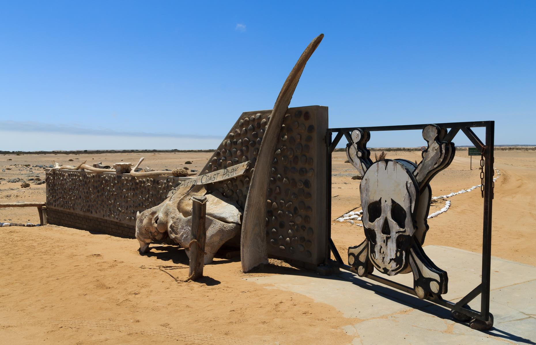 Slide 17 of 51: Brave tourists can usually visit the now 6,200 square miles (16,000sq km) of Skeleton Coast National Park and marvel at the shipwrecks and skeletons, as well as the dramatic sand dunes of the desert. Take a look at these amazing ruins where Mother Nature ran riot.