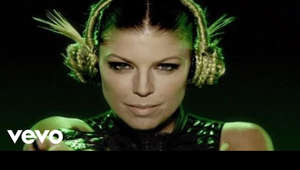 Fergie looking at the camera: REMASTERED IN HD! Music video by Black Eyed Peas performing Boom Boom Pow. (C) 2009 Interscope Records. #TheBlackEyedPeas #BoomBoomPow #Remastered
