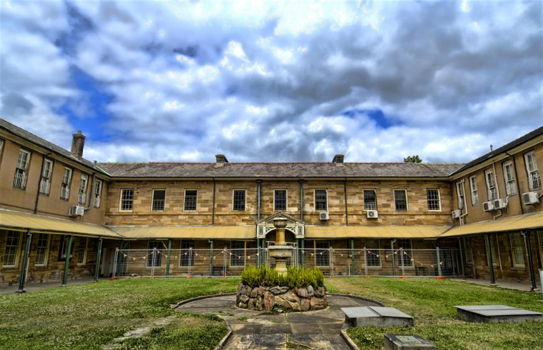 Slide 24 of 64: Tarban Creek Asylum, later renamed Gladesville, in New South Wales has a dark history indeed. Opened in 1838 and perched on the shores of the Parramatta River in the Sydney suburb of Gladesville, the psychiatric hospital was tipped as the first purpose-built asylum in the area. The facility was originally intended for just 60 patients but it's reported that more than 100 people were admitted here by the 1840s.