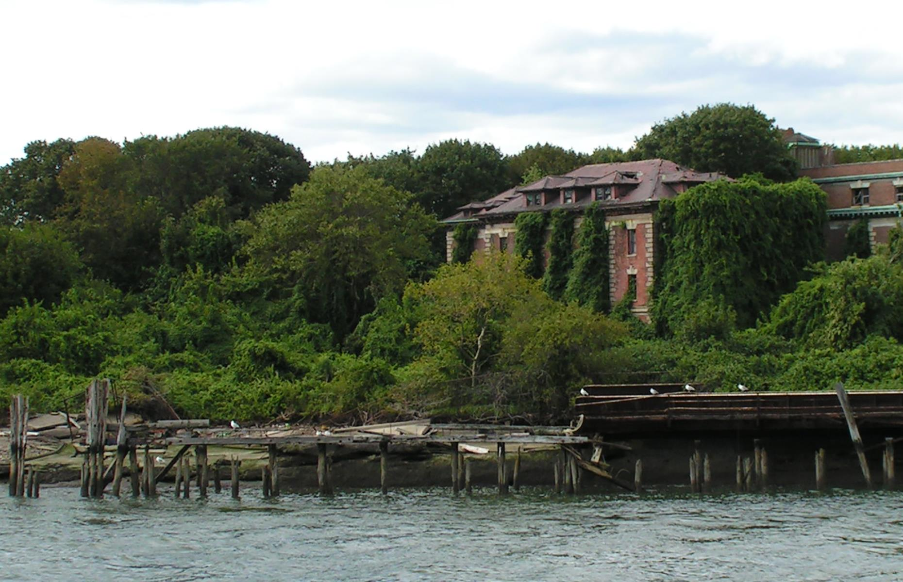 "Slide 28 of 64: North Brother Island, an eerie plot in New York City's East River, has a macabre past. It was ravaged by a fire in 1905, leading to the loss of hundreds of lives, but it's most well-known as the place where so-called ""Typhoid Mary"" was held. Mary Mallon, an immigrant cook living in the city in the early 1900s, was the first presumed carrier of bacteria linked to typhoid, after several of her co-workers contracted the disease."