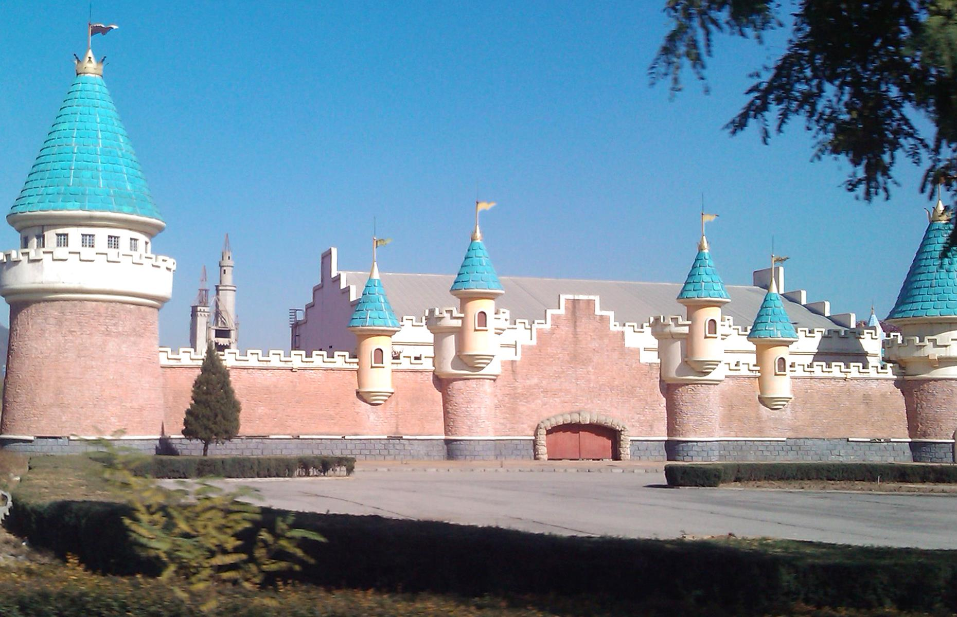 Slide 7 of 28: A stone's throw from Beijing, you'll find the remnants of the Wonderland Amusement Park. It was once tipped to be China's answer to Disneyland but due to financial issues, construction on the ambitious theme park was halted in the late 1990s. It was never completed or opened, and all that remains is a fairy-tale castle, now the domain of urban explorers. Check out more abandoned theme parks around the world here.