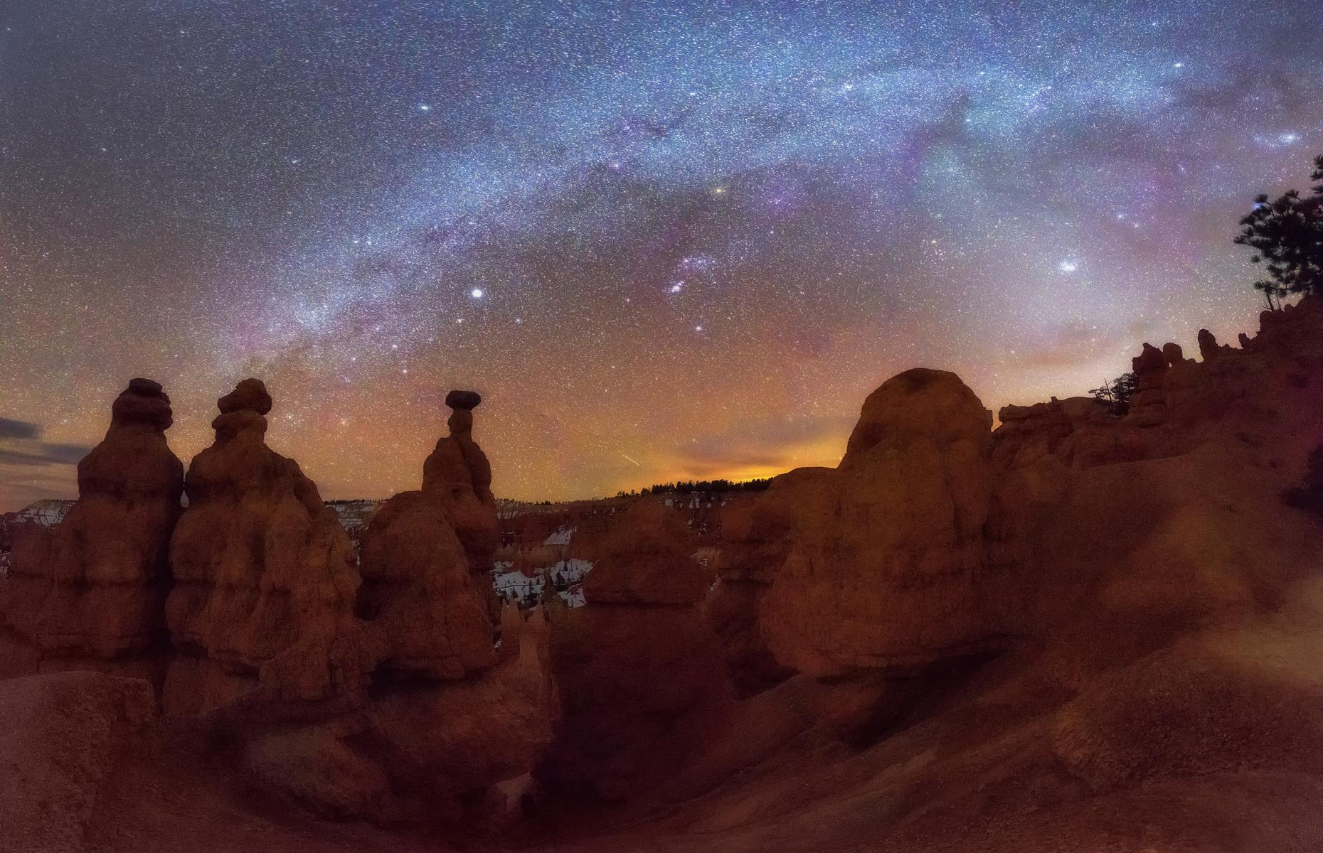 Slide 6 of 30: Stargazers are spoilt for choice in Utah, which has over a dozen IDA-certified spots – Bryce Canyon National Park joined their ranks in 2019. The park typically offers 100-plus annual astronomy programs involving stargazing expeditions with telescopes, and though the annual Astronomy Festival was canceled this year, Bryce Canyon restarted some of its dark-sky events in July. Double check the NPS website for details.