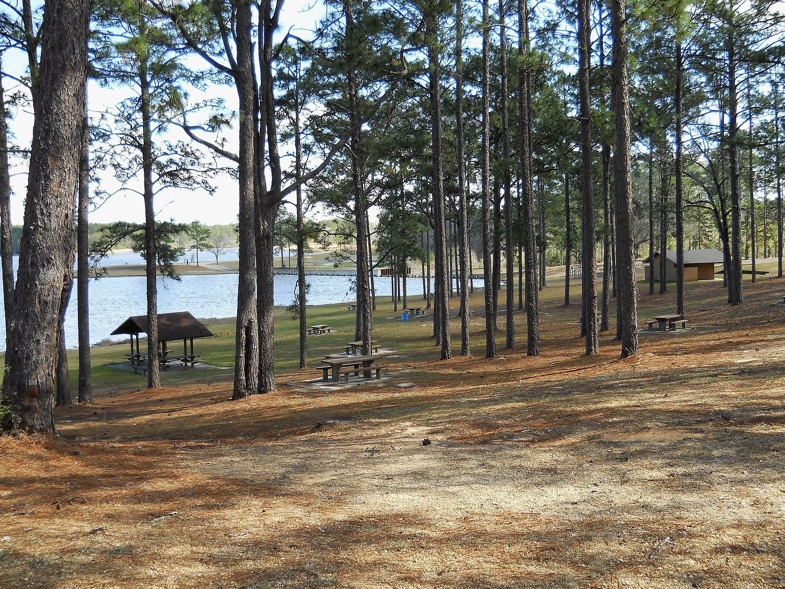 Slide 25 of 53: If you travel about 15 miles south of Hattiesburg, you'll end up at Paul B. Johnson State Park on Geiger Lake. Although the nature trails and 225-acre freshwater lake are the main attractions, you can also have fun with the disc golf course, splash pad and picnic areas. You can even make a weekend out of it with both RV and tent campsites, cabins and cottages.