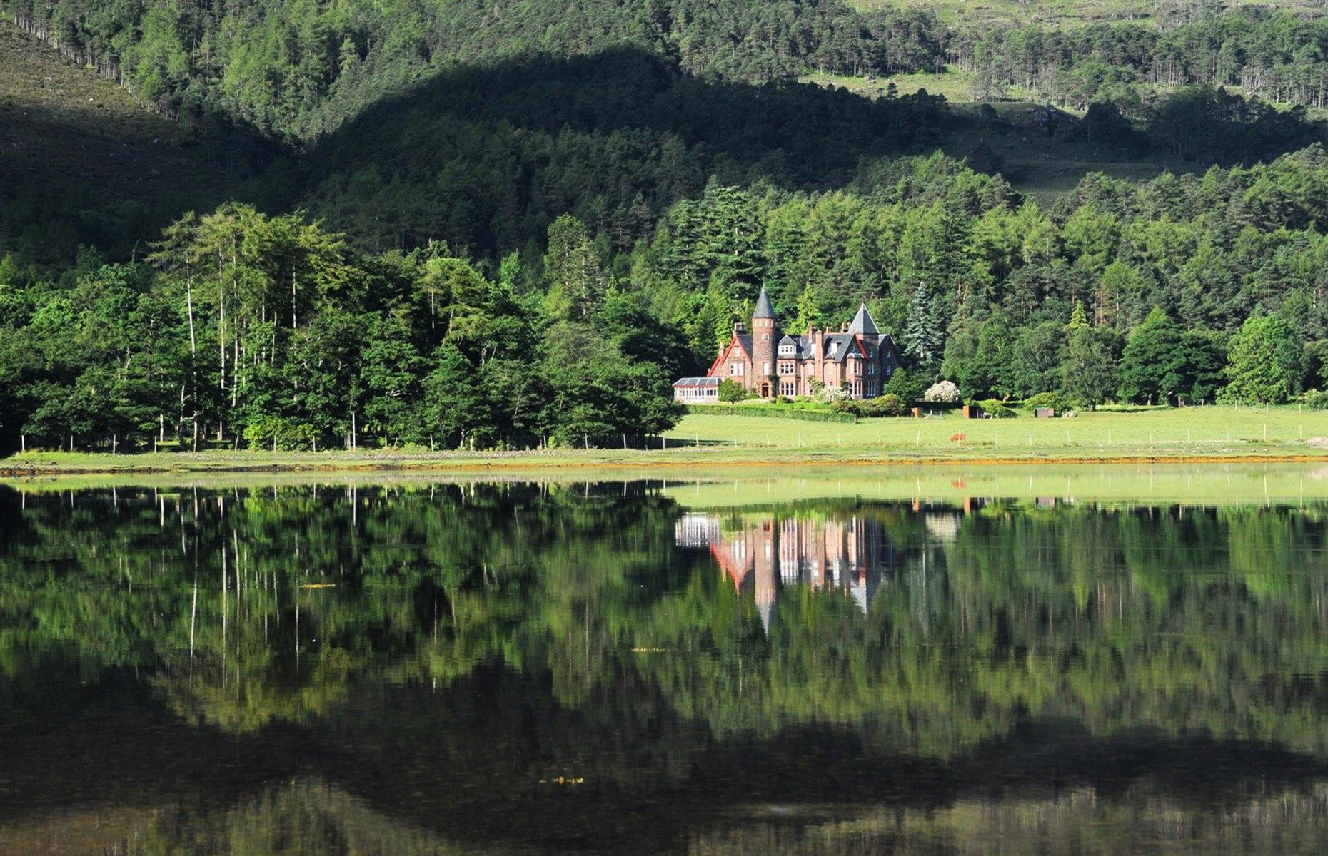 Slide 30 of 32: The grandeur of the Scottish Highlands is on full display at The Torridon on the shores of Loch Torridon. The boutique rooms all look out to the lake or to the 3,461-foot (1,054m) mountain Liathach. There's something for everyone at this hotel, whether that be a reviving outdoor escape or a pampering luxury getaway. Guests can expect some changes, like asingle point for checking in, physical distancing and enhanced cleaning procedures. Now take a look at50 of the most unusual places to stay in the world.