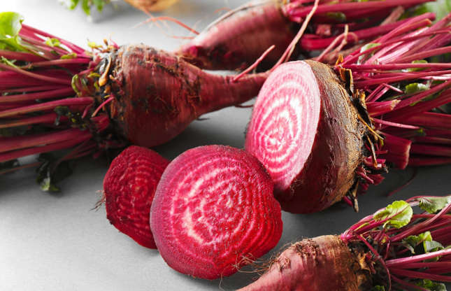 Slide 5 of 25: Leafy beetroot stems are a great substitute or alternative to spinach, bok choy and Swiss chard. Like you would with other fresh greens, simply steam, braise or sauté with a little butter. You could even eat them raw, simply thrown into salads.