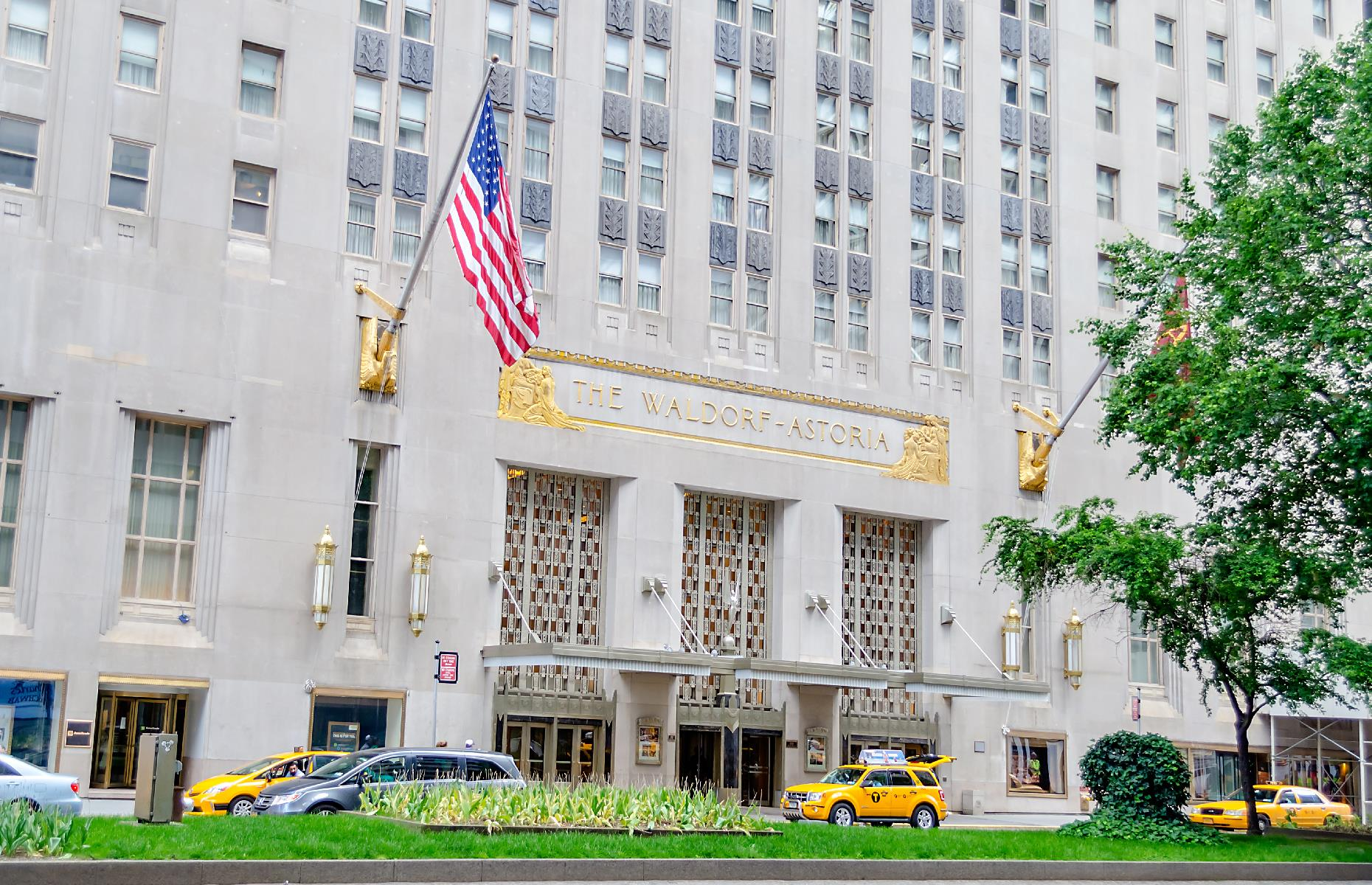 Slide 2 of 31: Most visitors to New York know Waldorf Astoria as a swanky hotel dripping in old-school luxury. But, beyond its chandeliers, vaulted corridors and uber-luxe lobby, the hotel hides a secret or two – not least the train station that exists beneath its plushly carpeted floors. It has become known as Track 61 and was used by VIPs, including President Franklin D. Roosevelt, who purportedly wanted to hide his polio disease. There are rumors that the station is still occasionally used today too.