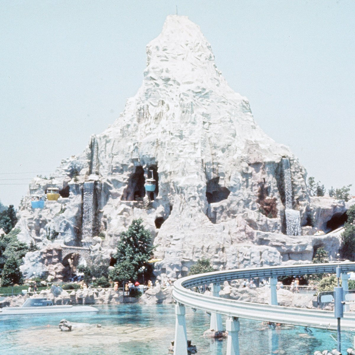 Slide 5 of 19: One of the most iconic rides at Disneyland, the Matterhorn coaster opened in 1959—and it still runs today! Back in the '70s, guests could travel through the mountain, too, as part of the Skyway ride. Here are the things that are still happening at Disney World despite park closures.