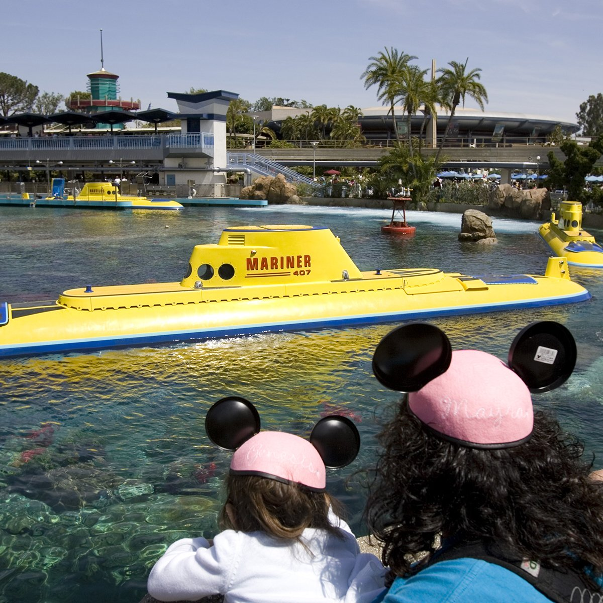 Slide 15 of 19: One of the original Disneyland attractions, Submarine Voyage, reopened to the public after nine years of refurbishment. It was rebranded with a Finding Nemo spin.