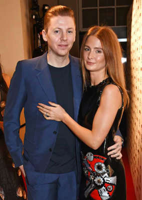 Professor Green, Millie Mackintosh posing for the camera: Millie Mackintosh and Professor Green