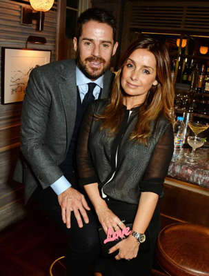 Jamie Redknapp, Louise Redknapp are posing for a picture: Louise and Jamie Redknapp