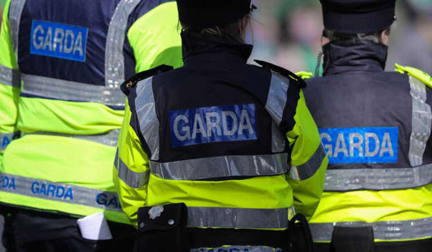 Gardai seized the items following searched a house in Sandycove, Co Dublin, on Saturday. One man was arrested who was later released. Pic: Getty