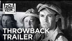 Nominated for seven Academy Awards® including Best Picture, and Winner of two, including Best Director for John Ford,* The Grapes of Wrath comes to Blu-ray™ for the first time! This American classic based on John Steinbeck's Pulitzer Prize-winning novel follows Tom Joad (Henry Fonda in an Oscar®-Nominated role) and his family as they escape the Depression-era Oklahoma dust bowls for the promised land of California. But the arduous trip and harsh living conditions offer little hope, and family unity proves as daunting a challenge as any other they face.  Own it on Blu-ray & DVD: http://fox.co/GrapesOfWrath  SUBSCRIBE: http://bit.ly/FOXSubscribe  About 20th Century FOX:  Official YouTube Channel for 20th Century Fox Movies. Home of Avatar, Aliens, X-Men, Die Hard, Deadpool, Ice Age, Alvin and the Chipmunks, Rio, Peanuts, Maze Runner, Planet of the Apes, Wolverine and many more.  Connect with 20th Century FOX Online: Visit the 20th Century FOX WEBSITE: http://bit.ly/FOXMovie Like 20th Century FOX on FACEBOOK: http://bit.ly/FOXFacebook Follow 20th Century FOX on TWITTER: http://bit.ly/TwitterFOX  The Grapes of Wrath | #TBT Trailer | 20th Century FOX http://www.youtube.com/user/FoxMovies