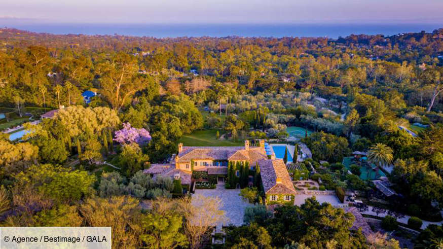 Diapositive 1 sur 26: Nouvelle propriété de Meghan Markle et du prince Harry dans le quartier de Montecito à Santa Barbara.