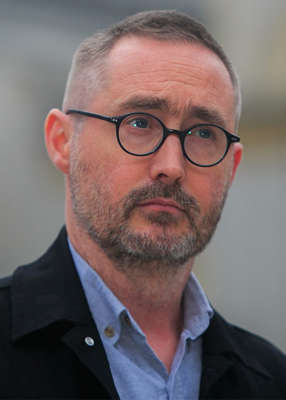 Eoin Ó Broin wearing glasses and looking at the camera: Sinn Féin housing spokesman Eoin Ó Broin said on Thursday night it was incredible the plan had not been published. Pic: Gareth Chaney/Collins Photos
