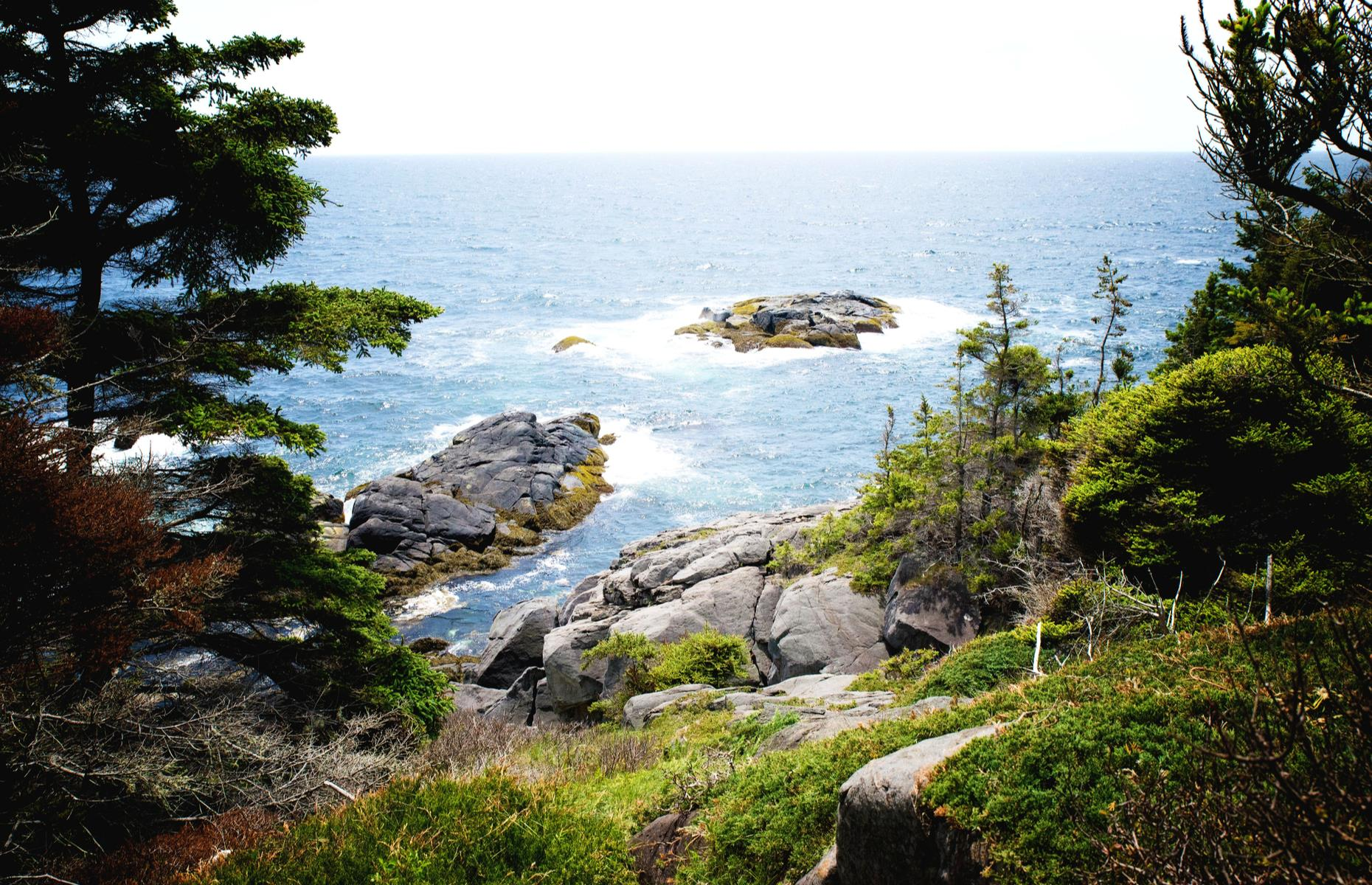 Slide 10 of 32: Monhegan Island, off the mid-coast of Maine, is an inspiring landscape. Not surprising then that the majority of the 70-odd people who live on the mountainous enclave are artists. It's a place with moody woodland, ocean bluffs, craggy outcrops and salty sea air.