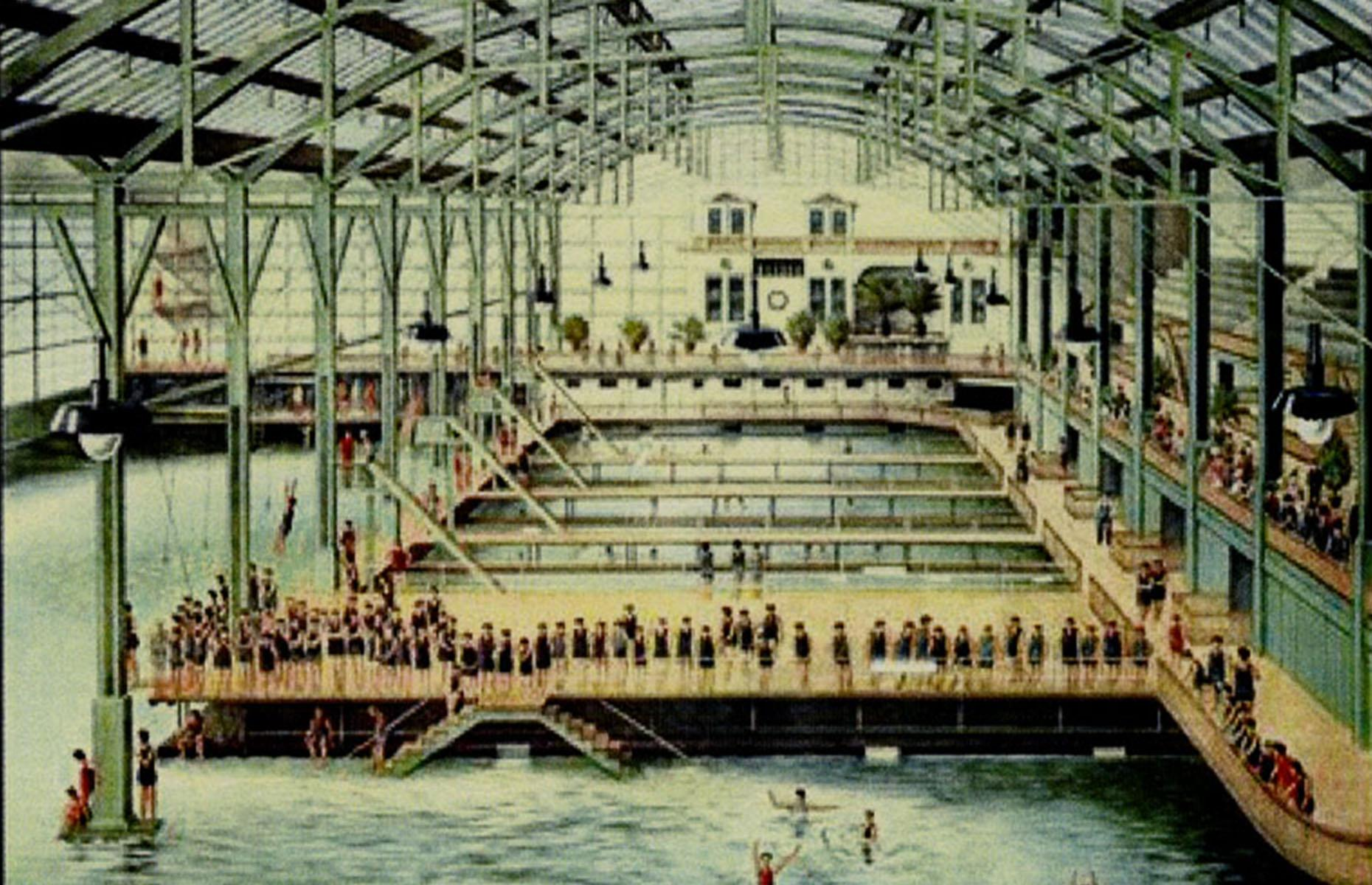 Slide 10 of 39: If you picture San Francisco, attractions such as the Golden Gate Bridge, Alcatraz Island or Lombard Street might spring to mind. But did you know that the city was once home to the world's largest indoor swimming pool establishment? The impressive complex included six saltwater pools and one freshwater pool, with capacity for 10,000 people.
