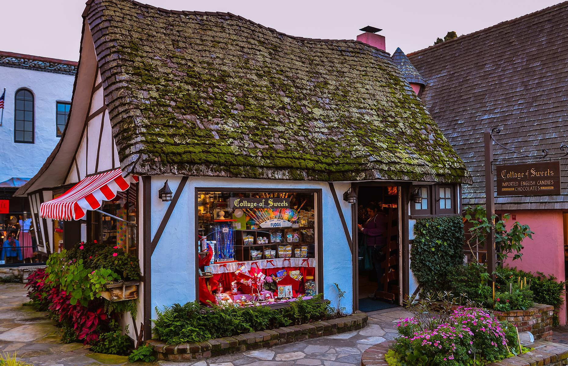 Slide 4 of 32: A stroll around Carmel-by-the-Sea will quickly reveal that it's not your typical West Coast surf town. With thatched cottages like something out of a British village, Carmel-by-the-Sea is one-of-a-kind. Just off the famous Highway 1, it's a perfect stop along Big Sur as it offers everything from art galleries and boutiques to restaurants and wine-tasting rooms. The town's beach has earned a stellar reputation for its pristine white sand and azure waters, too. Check the latest travel alerts here.