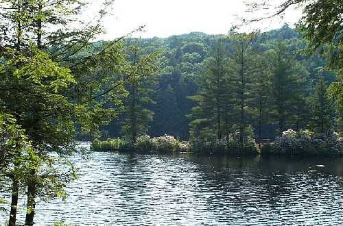 Slide 8 of 52:  Where: Bigelow Hollow State Park Distance: 6-mile loop Must see: Enjoy beautiful views of Mashapaug Lake and Bigelow Pond in one of the largest forest areas in Connecticut.