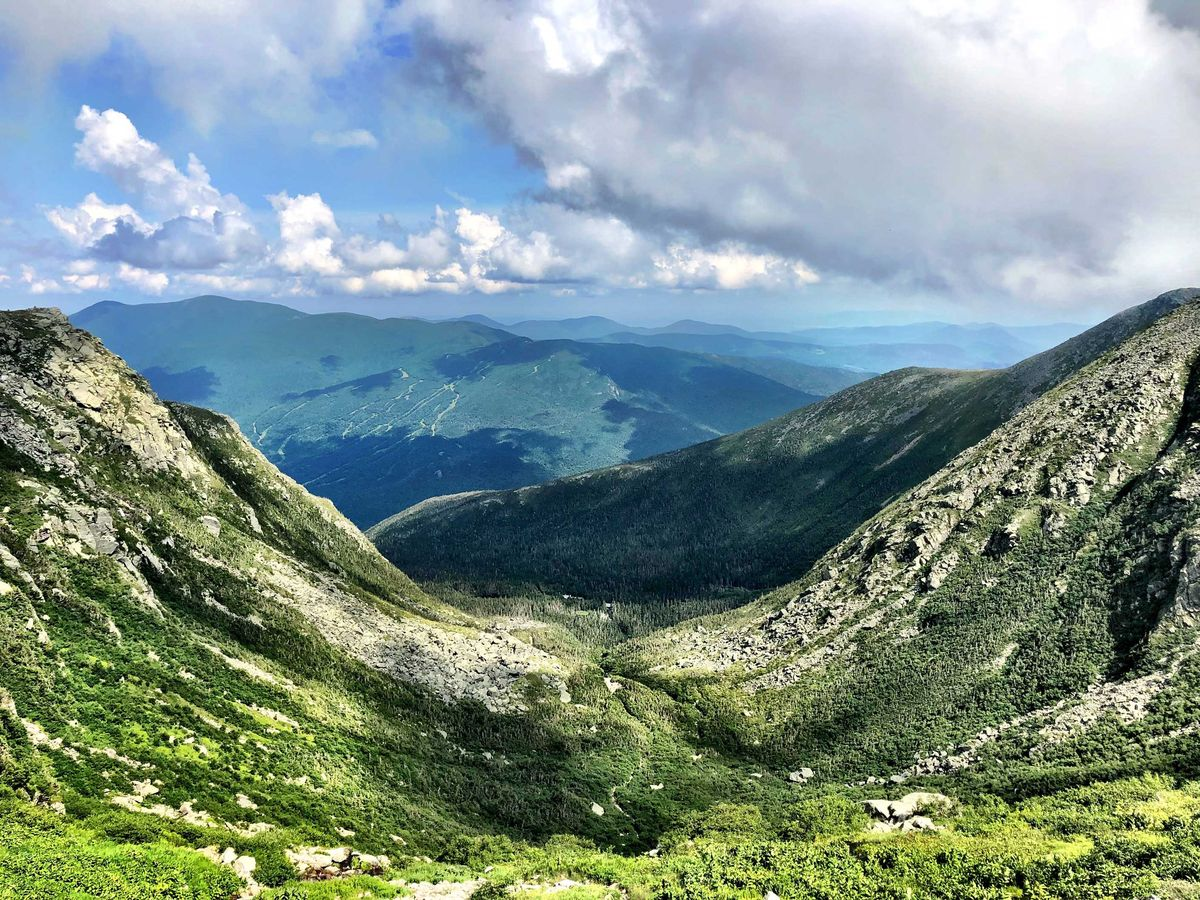 Slide 30 of 51: Mount WashingtonWith stunning views, Mount Washington is the highest peak in the Northeastern United States at 6,288.2 feet and the most topographically prominent mountain east of the Mississippi River. Before you visit bring layers to be prepared for its erratic weather.