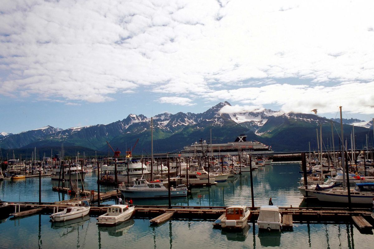 Slide 3 of 51: SitkaOnce entering Sitka, you won't feel like you're in America with the vibrant culture of Russia at the forefront. That's because this small town was a part of Russia until 1867, but the roots of its origin have remained. Visitors can enjoy the mountain scenery, whale watch, go snowmobiling on a Polaris, hike, fish and kayak.