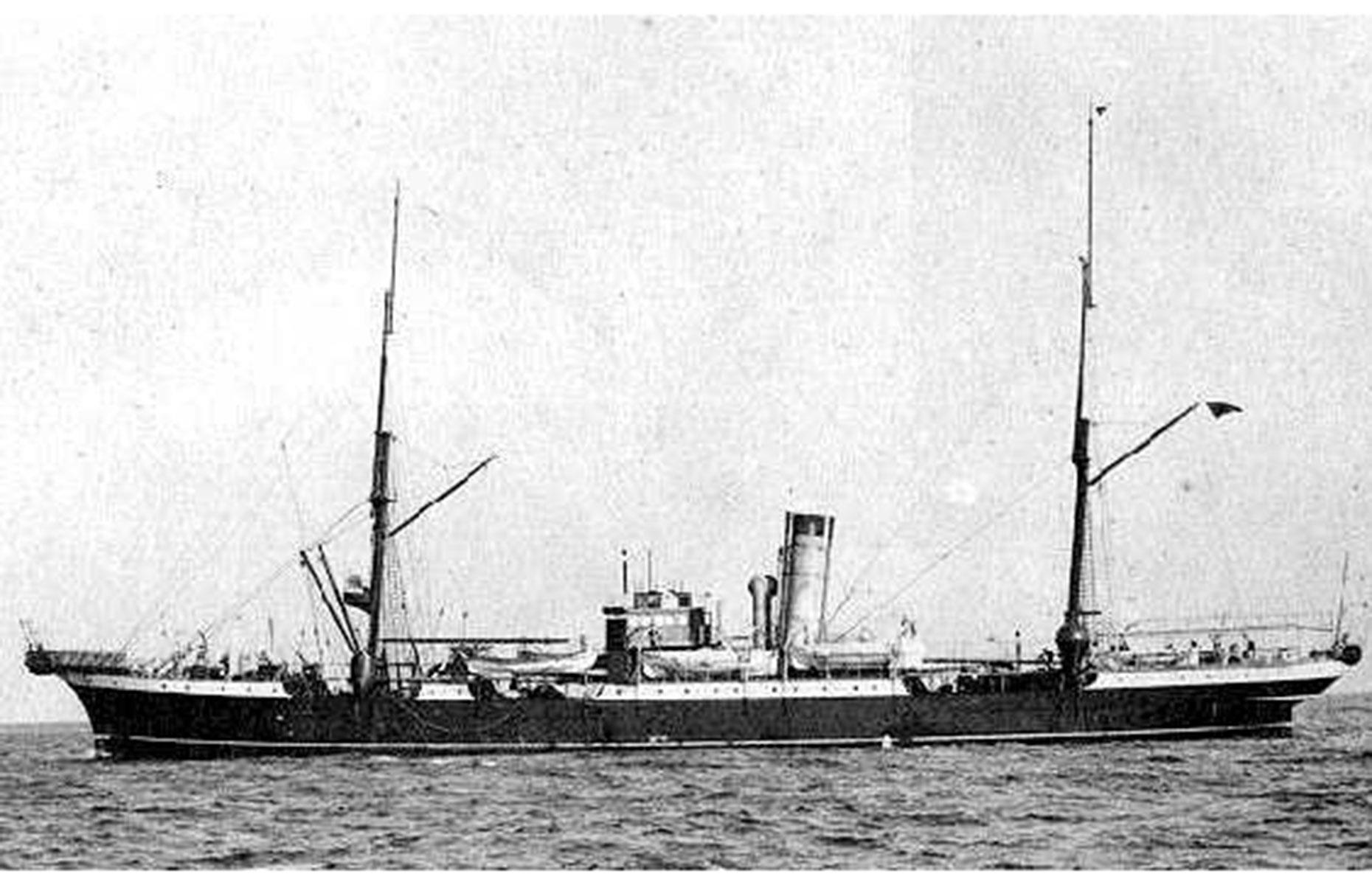 Slide 38 of 46: Four ships, including the SS Mackay-Bennett (pictured) were sent on a recovery mission on 17 April from Halifax. The ships collected both bodies and artifacts such as deckchairs. Over 100 of those who died are buried at Fairview Cemetery in the Nova Scotian city. There is also a highly informative exhibition at Halifax's Maritime Museum of the Atlantic that charts the city's role in the aftermath.